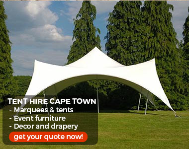 party gazebo hire Cape Town