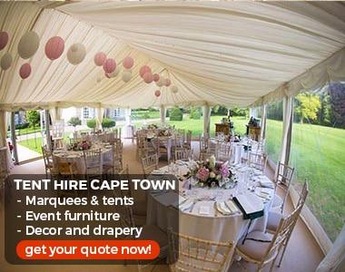 Event Furniture Hire Cape Town